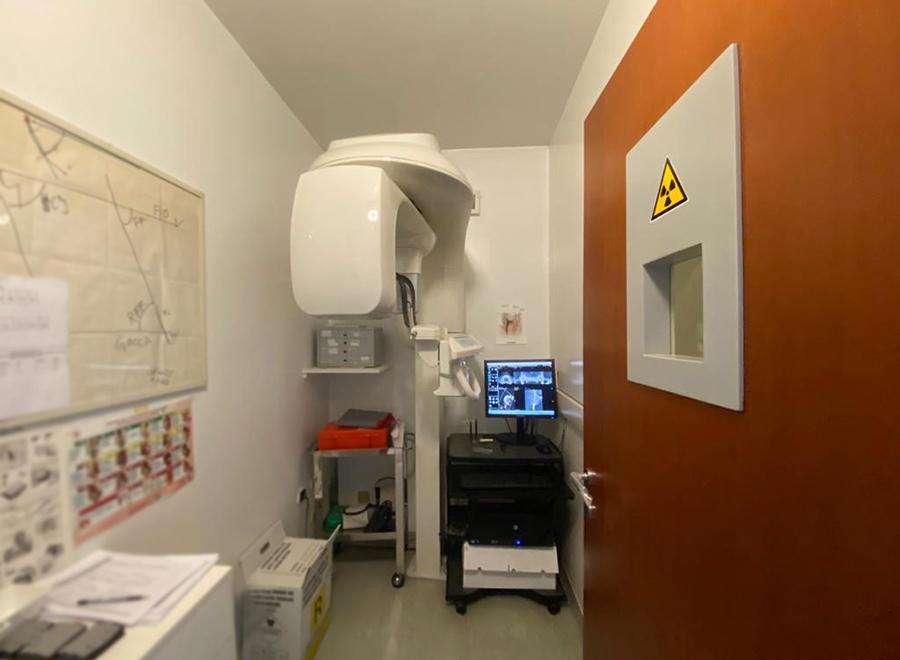 Studio Dentistico Arienti radiologia ortopantomografo
